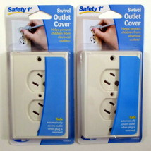 SAFETY 1ST Swivel Outlet Cover Set of 2 Babyproof Your Electrical Outlets - $9.99