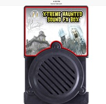 New Spooky HAUNTED HOUSE SOUND BOX Halloween Party Special Effects Motio... - $39.57
