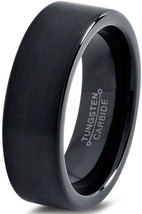 Tungsten Wedding Band Ring 4mm for Men Women Co... - $27.77