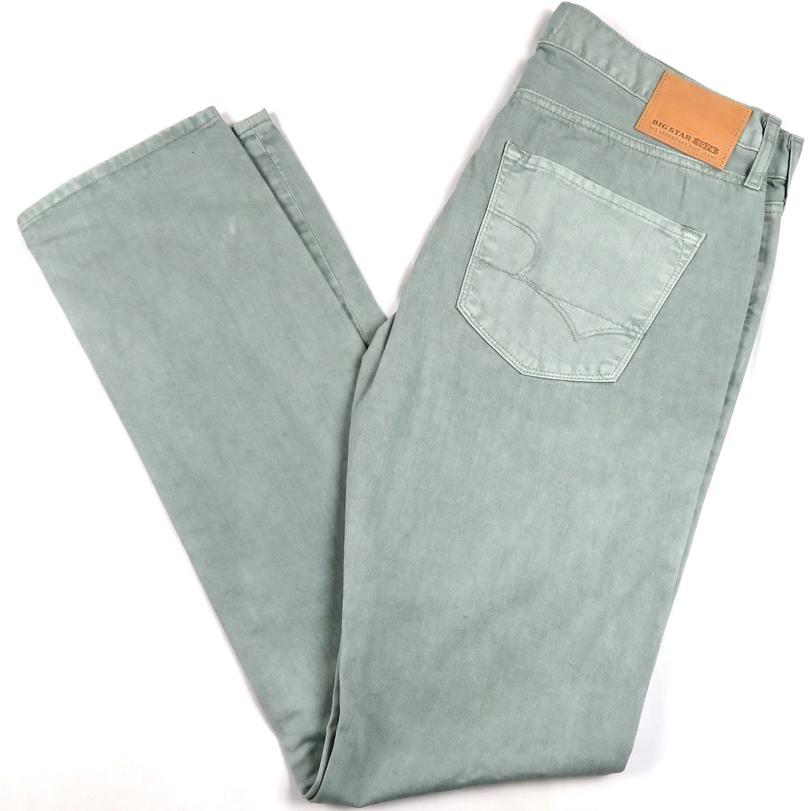 Big Star 1974 Men's Jeans Archetype Slim Fit Denim Pants Sea Foam