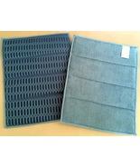 Microfiber Cleaning Scrub Sponge Pads 2 Blue Gl... - $2.50