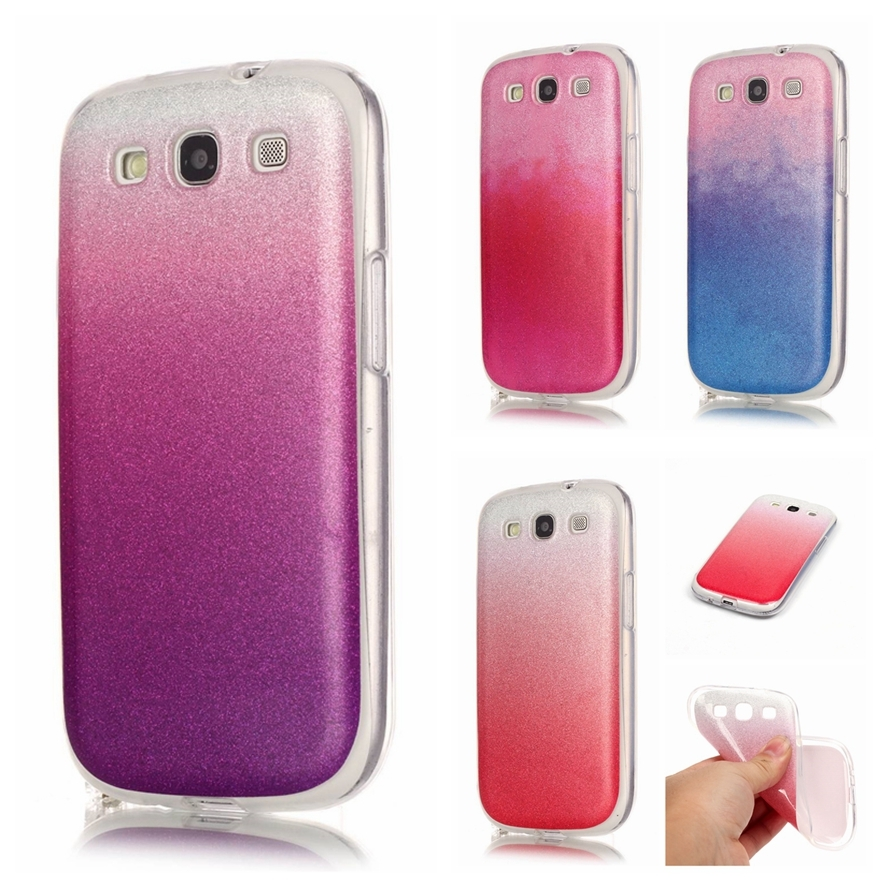 For Samsung S3 Case Silicon Glitter Phone Cases For ...