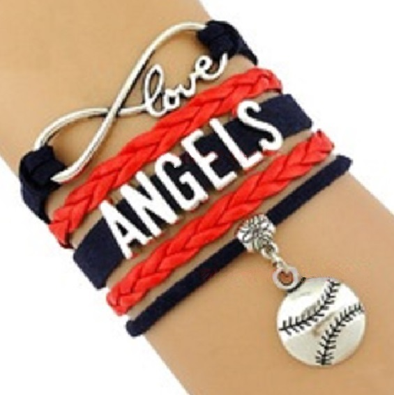 LOS ANGELES Sports Bracelet 3 Pack Gift Special - Angels, Kings AND Rams!