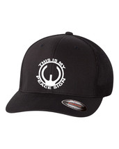 THIS IS MY PEACE SIGN AR15 GUN 2nd Amendment Trucker Flex Fit HAT FREE S... - $19.99