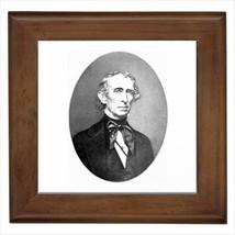 John Tyler Virginia Wall Tile Art (Home Decor) - $12.38