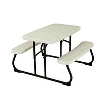 Garden Kids Picnic Table In\\Outdoor Foldable Fun Time Table - $84.84