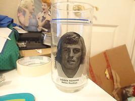 Vintage NFL Dallas Cowboys dr pepper burger king Golden Richards cup glass - $26.72