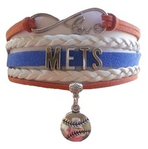 New York Mets Baseball Fan Shop Infinity Bracelet Jewelry - $11.99