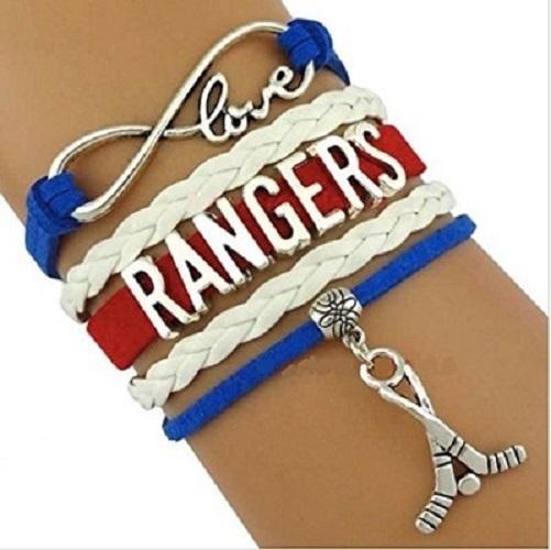 New York Rangers Hockey Fan Shop Infinity Bracelet Jewelry