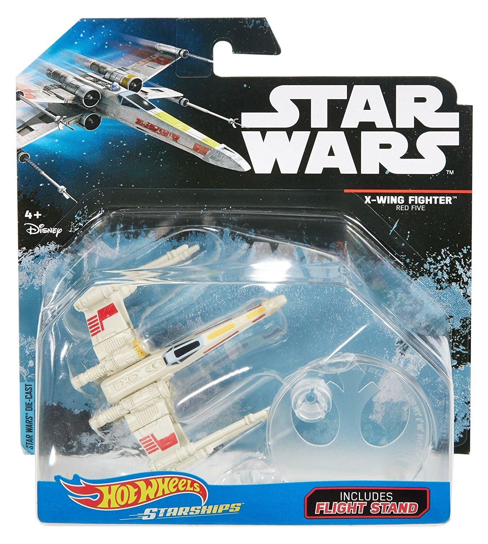 Die-Cast HOT WHEELS STARSHIPS Flight Stand STAR WARS Toy *YOU CHOOSE* MATTEL* 1