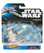 Star Wars Hot Wheels Starships - Red Five X Wing Fighter Open Wings  - $18.99