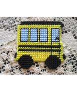 Little School Bus Magnet Plastic Canvas Needlec... - $5.00