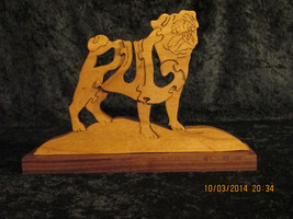 Pug - Woodimal - Solid Wood Dog Breed Puzzle - Hand Made - $27.00