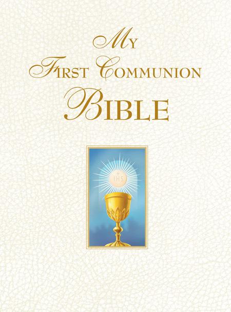My first communion bible  white  sb0043x