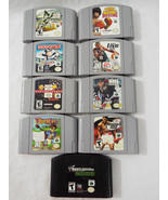 Lot of 9 Nintendo 64 N64 Video Games GAMES ONLY... - $98.99