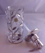 La Brazel Crystal Vine Platinum Bath Accessory set/3