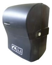 Wausau Optiserve AD10802 Paper Roll Towel Dispenser Dual-Function Black ... - $44.99