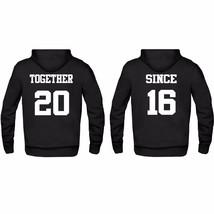 Couple Matching Hoodie Boyfriend Girlfriend Valentin's Day Gift Together... - $29.69+