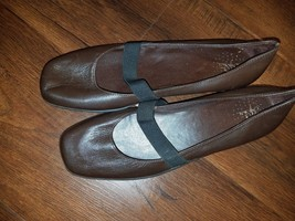 Life Stride Liza Too Women US 7.5 Blue Ballet Flats UK 5.5 Pre Owned  1572 - $14.70