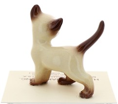 Hagen-Renaker Miniature Cat Figurine Siamese Papa Chocolate Point image 3