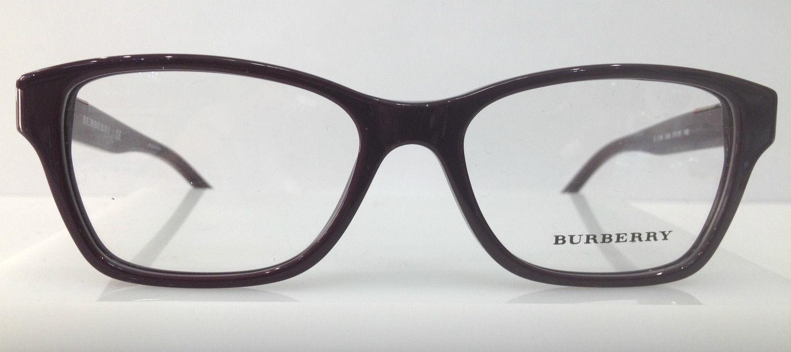 Burberry Glasses Frame Parts : BURBERRY B 2144 Purple 3424 Plastic Eyeglasses Frame 51-16 ...