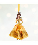 Disney Parks Store Belle Sketchbook Ornament  Beauty Princess Beast Lumi... - $23.74