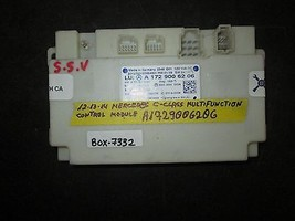 12 13 14 Mercedes C Class Multifunction Control Module #A1729006206 - $123.74