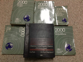 2000 Ford Mustang Gt Cobra Mach Service Shop Manual SET W EWD & PCED 6 B... - $395.99
