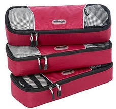 eBags Raspberry Slim Packing Cubes [ 3 piece set ] - $407,87 MXN