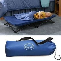 Portable Travel Bed My Cot For Children's Folding Camp Blue - $41.55