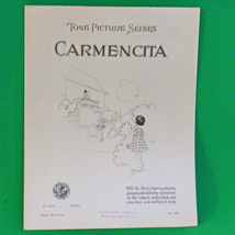 1925 Art Publication Society Teacher's Library Sheet Music, #324, Carmen... - $2.95
