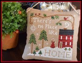 No Place Like Home cross stitch chart Little House Needleworks - $5.40