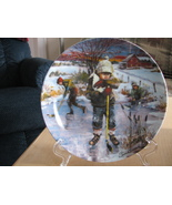 Dreams of Glory Collector Plate, Boy Playing Ho... - $19.97