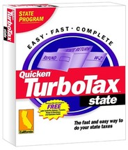 TurboTax 2001 CA State [CD-ROM] Windows 98 / Windows 2000 / Windows Me /... - $39.59
