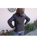 REDUCED Worthington Brand Black Leather Jacket RN93677 Size Medium - $196.00