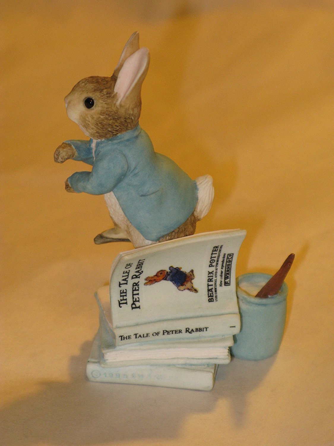 The World Of Beatrix Potter - Peter Rabbit Figurine # 199443 - Retired