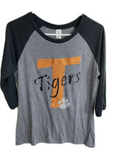 Distric made Women's NCAA Clemson Tigers Henley Shirt Size M Free Shipping - $12.82