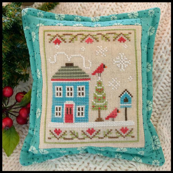 Snow Place Like Home Part 4 cross stitch chart Country Cottage Needleworks  - $5.40