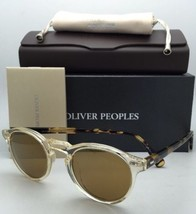 New Oliver Peoples Sunglasses Gregory Peck Ov 5217-S 1485/W4 Buff /Honey w/ Gold - $394.95