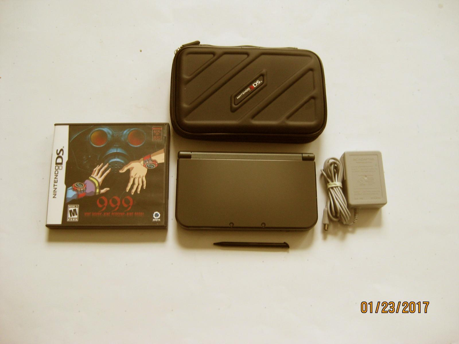 Primary image for Nintendo New 3DS XL Black 9.9 Firmware  w 999 & More !!