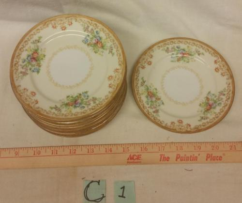 "Vintage Empress Japan Pattern EMP1 Fine China 6"" Bread Plate 1930's"