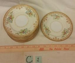 "Vintage Empress Japan Pattern EMP1 Fine China 6"" Bread Plate 1930's"