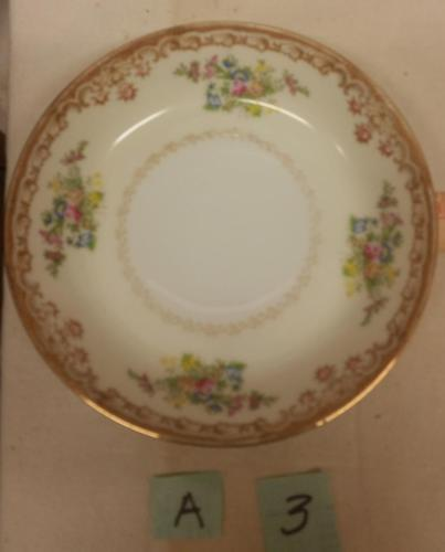 "Vintage Empress Japan Pattern EMP1 Fine China 7 1/2"" Soup Bowl 1930's"