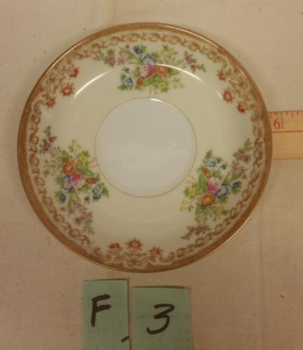"Vintage Empress Japan Pattern EMP1 Fine China 5 1/2"" Saucers Only1930's"