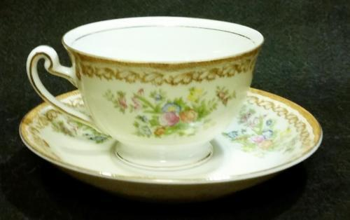 Vintage Empress Japan Pattern EMP1 Fine China Cup and Saucer 1930's