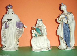 Lenox First Blessing Nativity The Three Kings 3 PC. Figurine Set New image 1