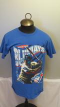 Toronto Blue Jays Shirt (VTG) - Batter and Wavy Script - Men's Large  - $49.00