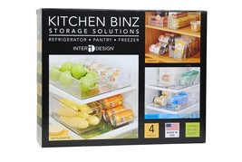 Kitchen Binz Storage Solutions 4 Piece Set, Mis... - $14.84