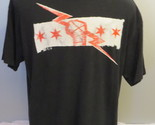 CM Punk Shirt - Best in the World / Staight Edge Stars - Men's Extra Large