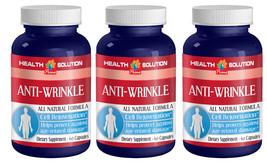 Anti Wrinkle Boosts Collagen,Natural Formula (3 Bottles) Free Shipping - $29.88